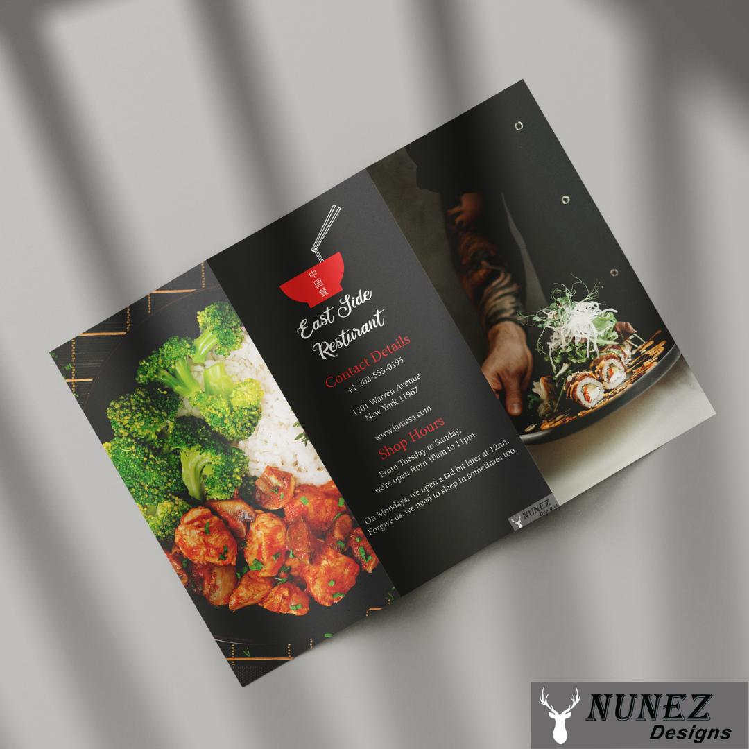 East-Side Restaurant Brochure