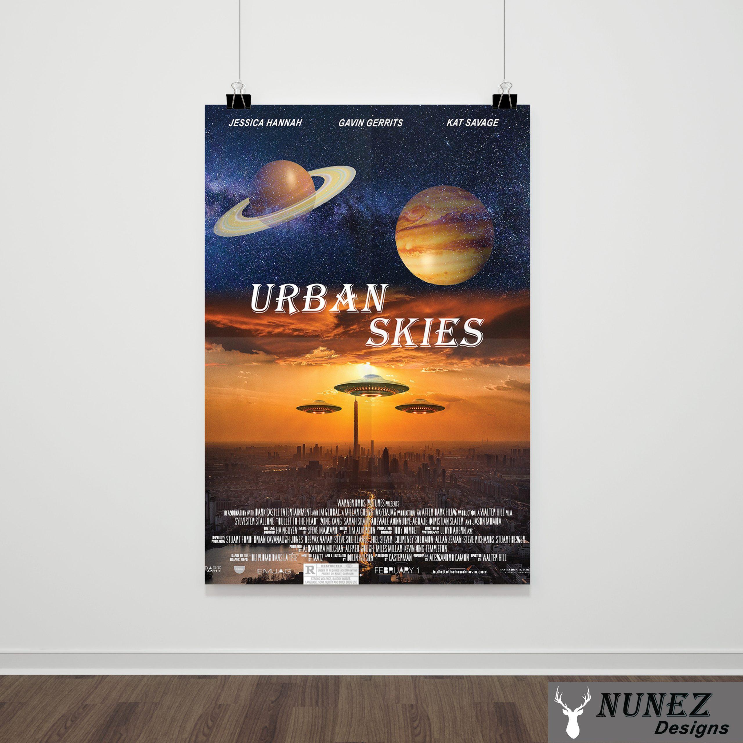 Urban Skies Poster